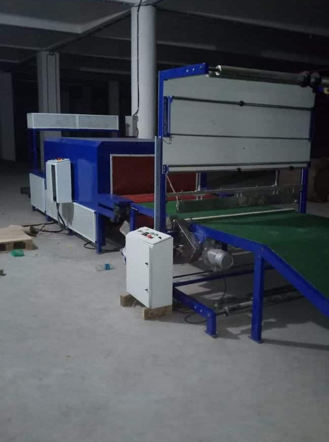 paper bag shrink wrapping machine manufacturer